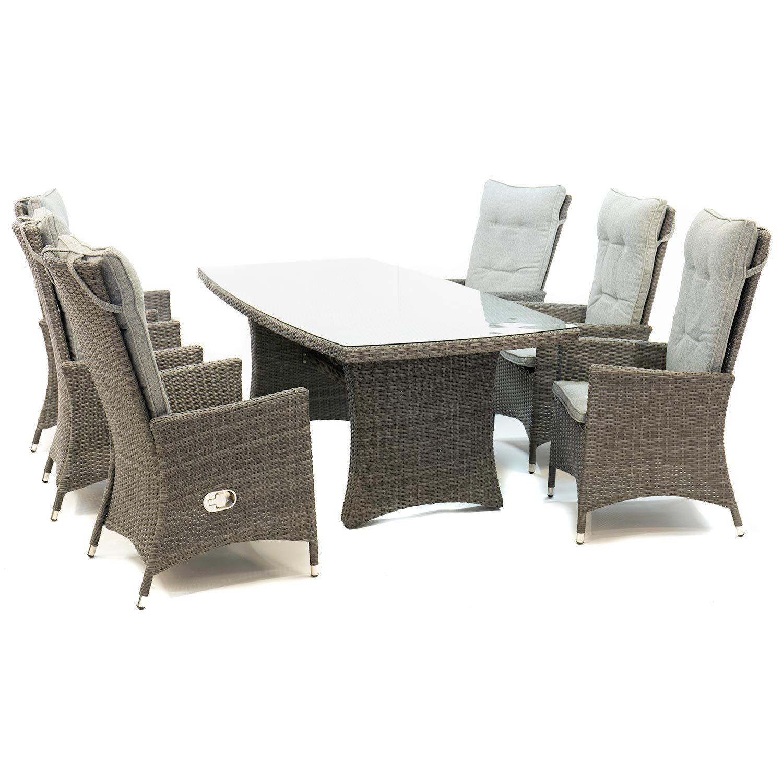 Georgia Lyx positionsstol med Hampton bord antracit.