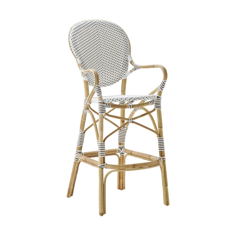 Isabell barstol från Sika Design i rotting och konstrotting.