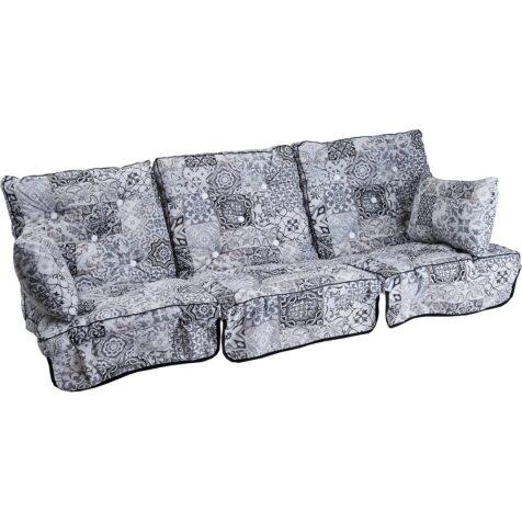 Lågt hammockset i marocco grey i bomull från Fritab