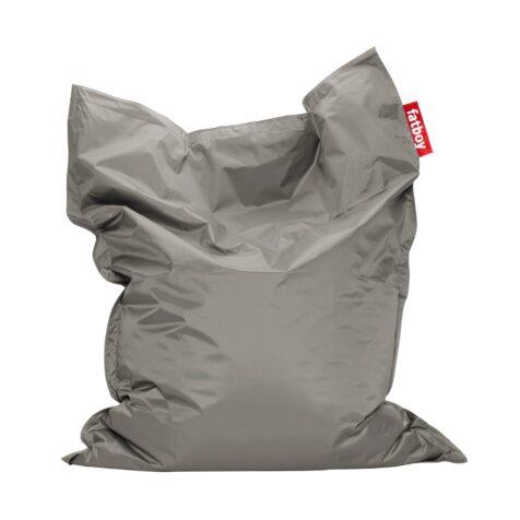 Fatboy Original saccosäck i silver.