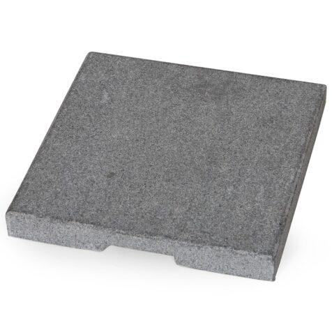 Parasollfotsvikt i betong till Smillson fot.