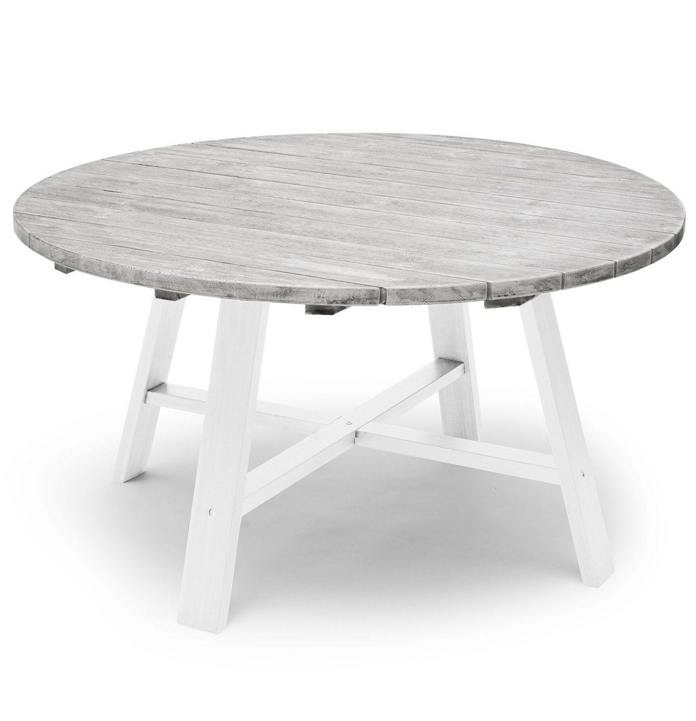 Shabby Chic bord från Hillerstorp i vitt och grått.