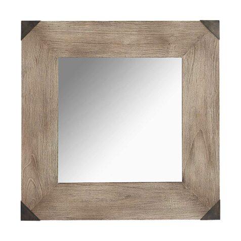 Vintage spegel i kvadratiskt format från Artwood.