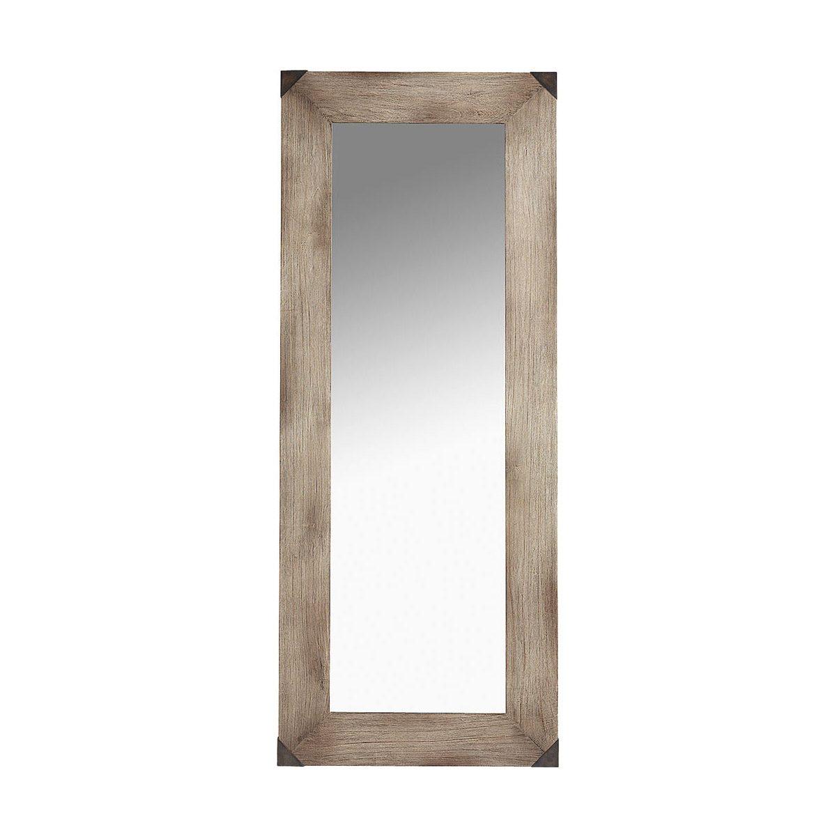 Vintage spegel gjord i Ek från Artwood.