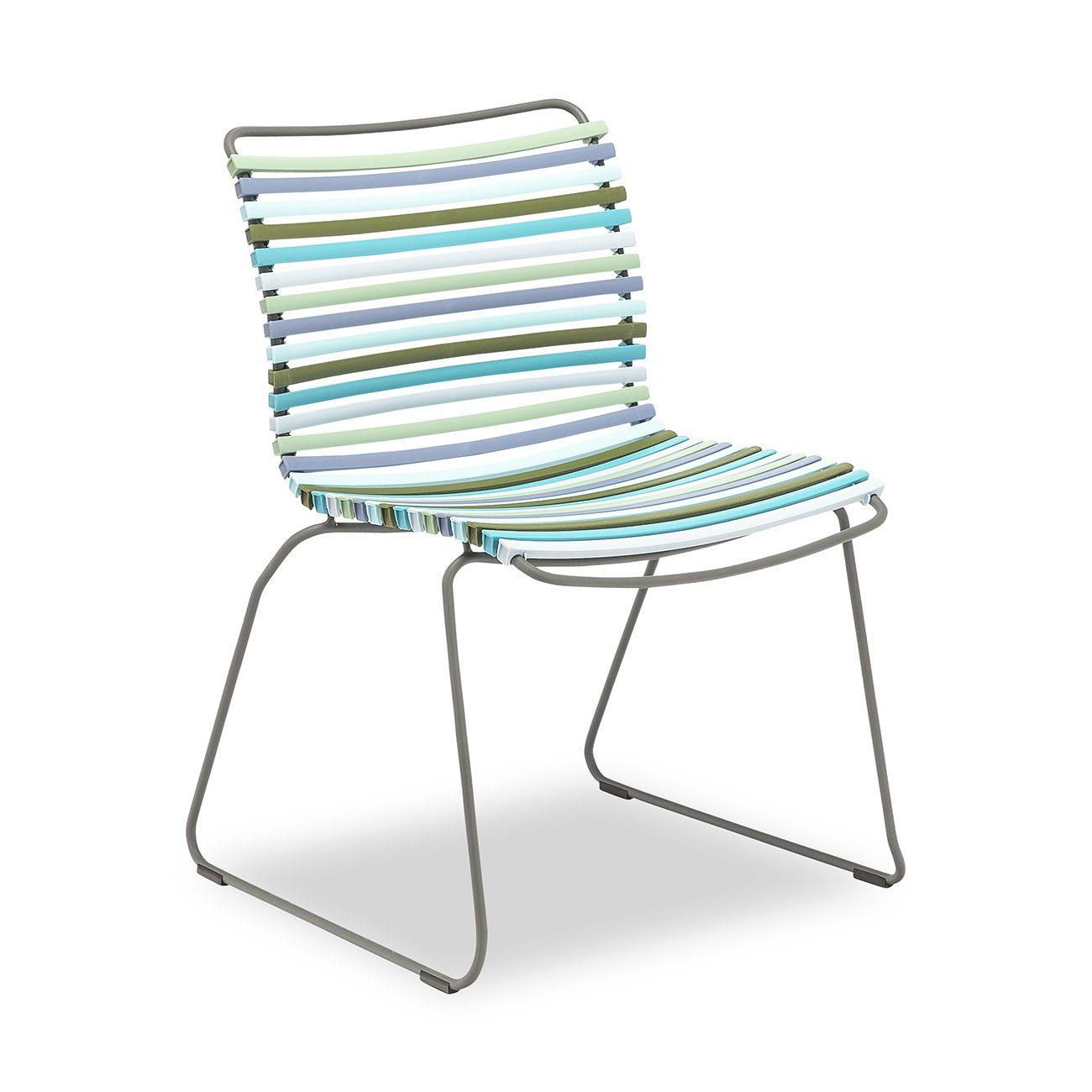 Multifärgad click matstol från Houe.