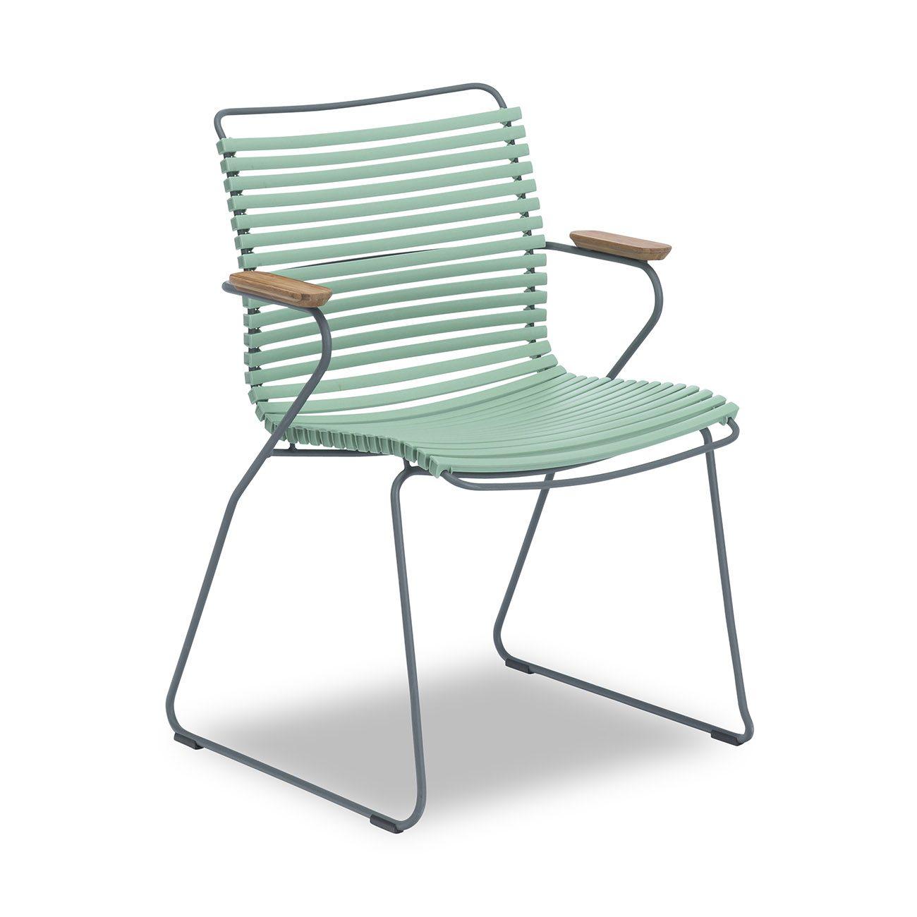 Click karmstol i dusty green från Houe.