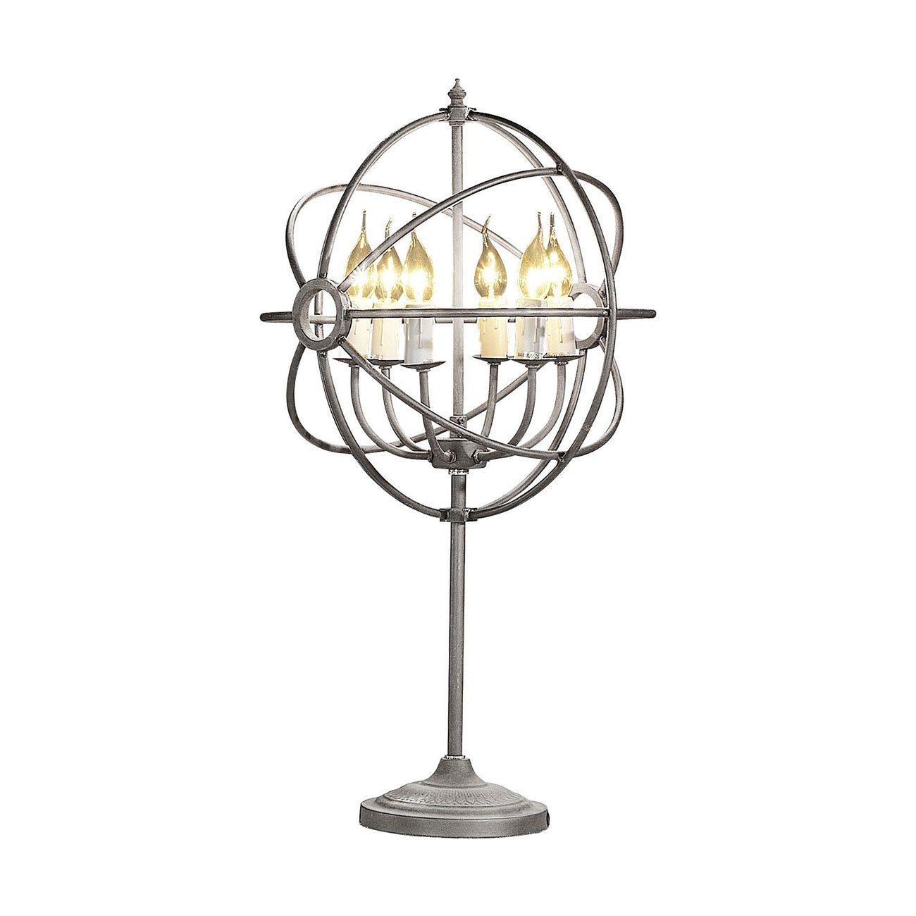 Gyro ljuskrona i silver metall ifrån Artwood.