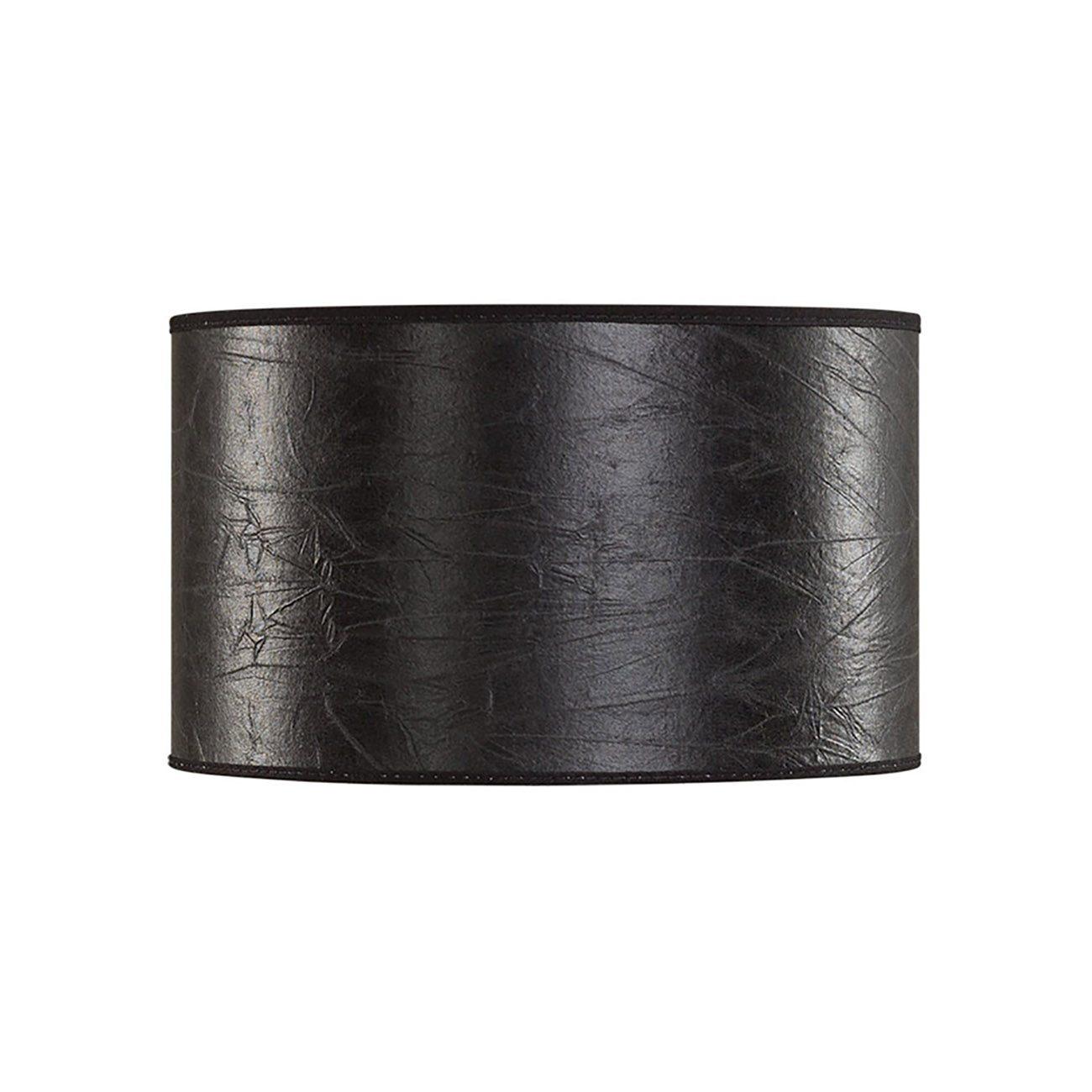 Liten cylinderformad lampskärm i svart från Artwood.