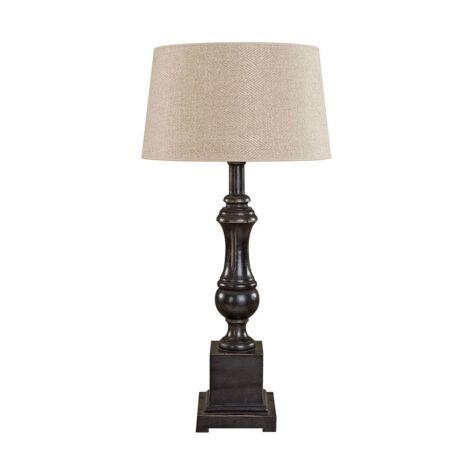 Venice bordslampa ifrån Artwood i svart.