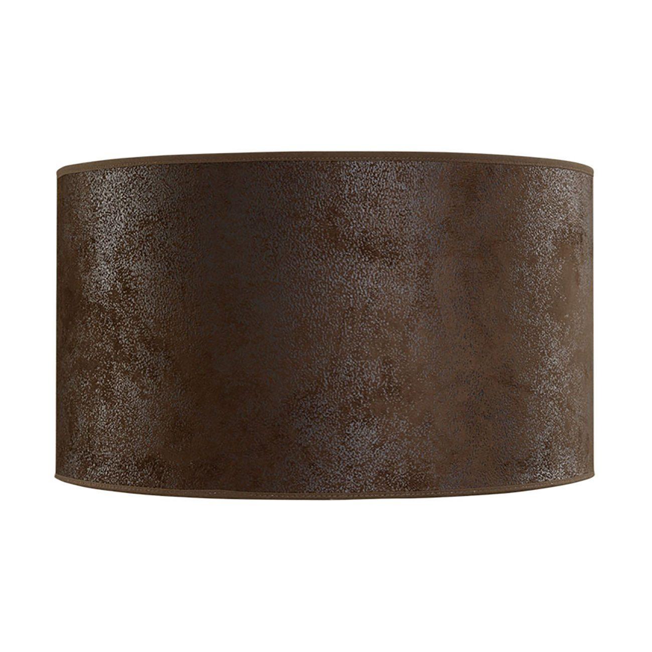 Lampskärm tillverkad i brun mocka från Artwood.