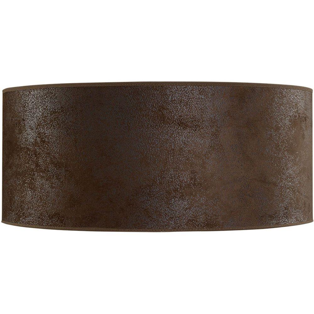 Cylinder lampskärm i brun mocka från Artwood.