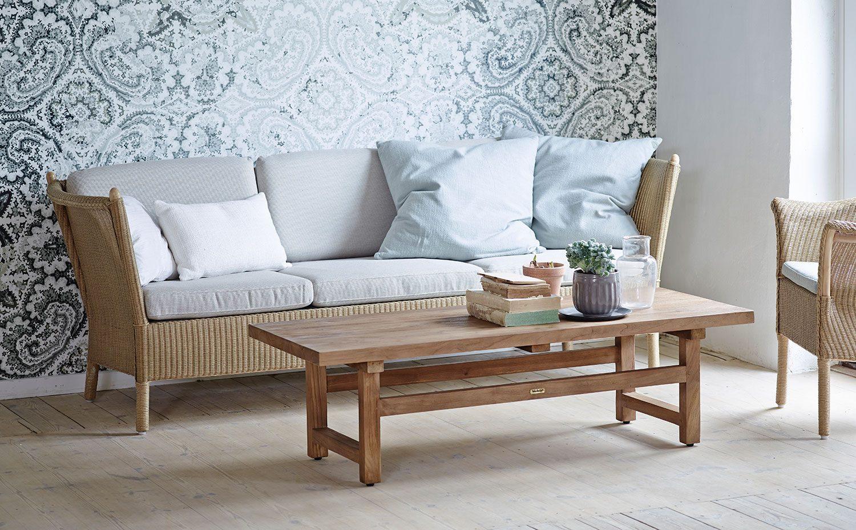 Duo 3-sitssoffa från Sika Design flätad i Loom