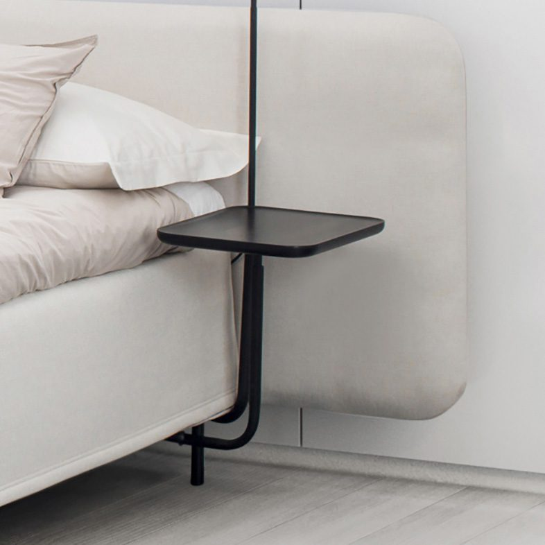 Add-On sängbord från Jensen i svartbetsad ek.