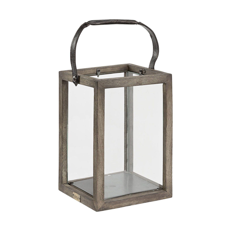 Ljuslykta från Artwood tillverkad i java oak storlek: 20x20x30 cm