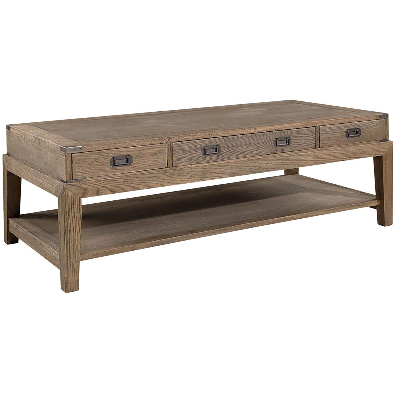 Vermont soffbord tillverkad i sliten ek från Artwood.