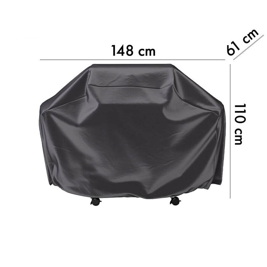 7854 Aerocover skydd för gasolgrill, 148 cm höjd 61 cm
