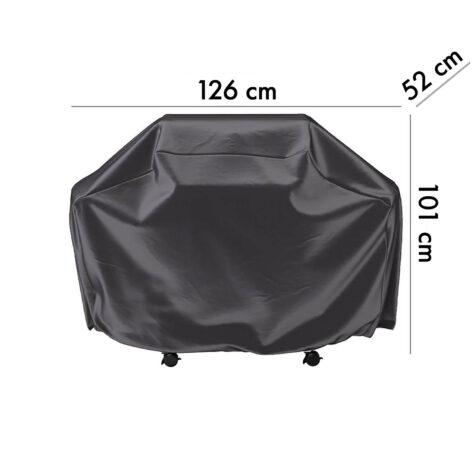 7850 Aerocover skydd för gasolgrill, 126 cm höjd 52 cm