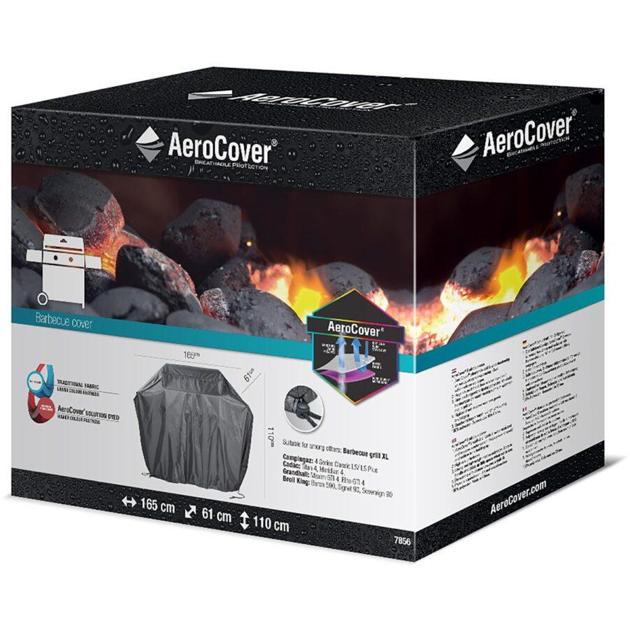 Förpackning till gasolgrillskydd från Aerocover.