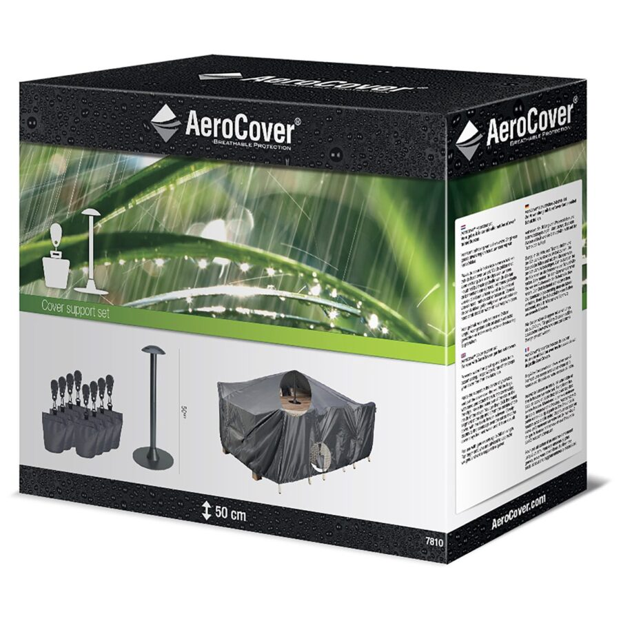 Förpackning till sandpåseset från Aerocover.