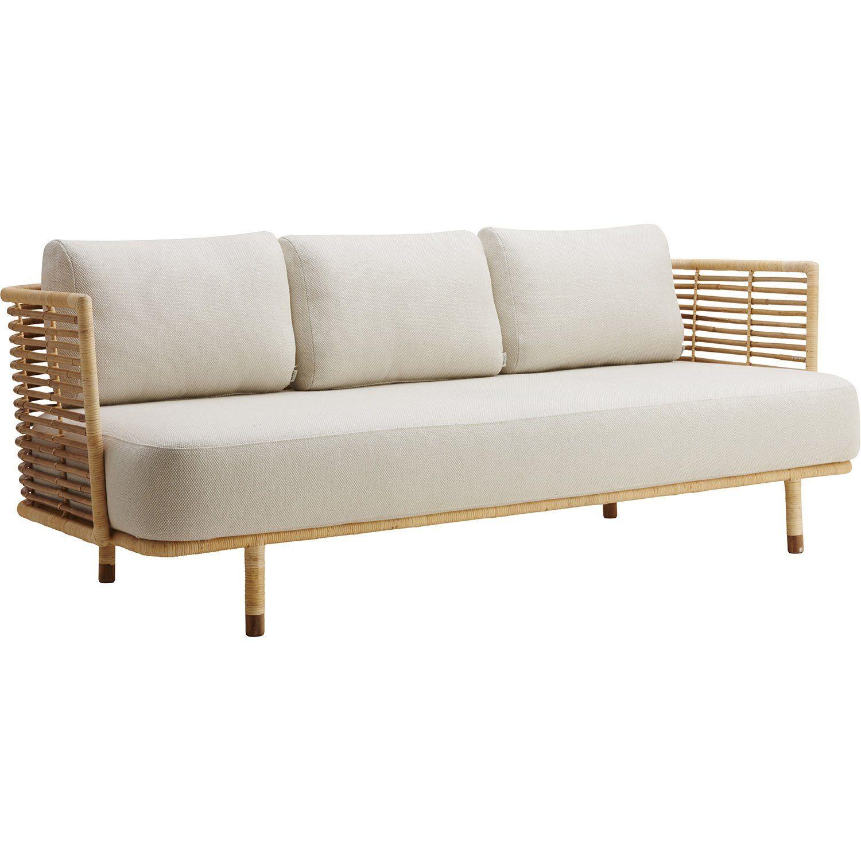 Sense soffa med off-white dyna.