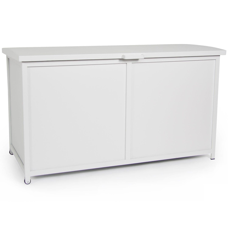 Grasse förvaringsbox för dynor tillverkad i aluminium av Brafab.