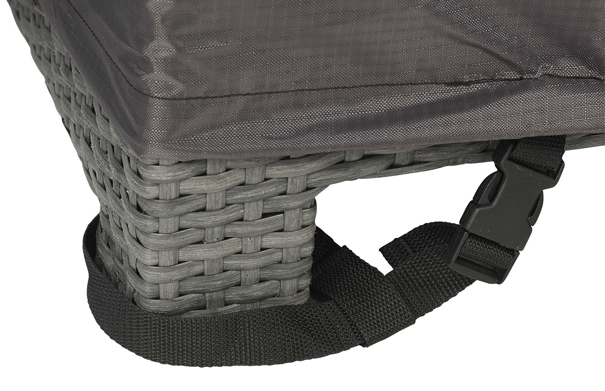 Ögla som du fäster runt benet på hörnsoffskydd från Platinum