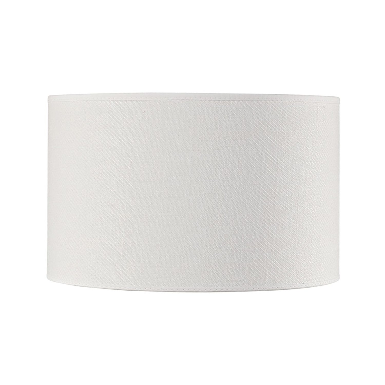 cylinder lampskärm liten vit från Artwood.