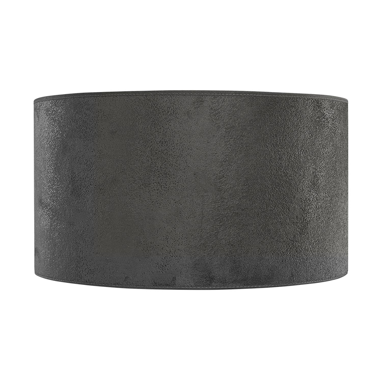 Cylinder lampskärm från Artwood i grå mocka.
