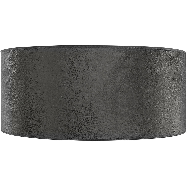 Cylinder lampskär i grå mocka från Artwood.