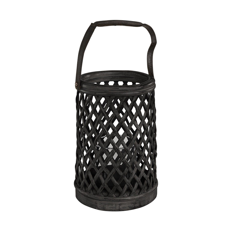 Bamboo ljuslykta i svart från Artwood.