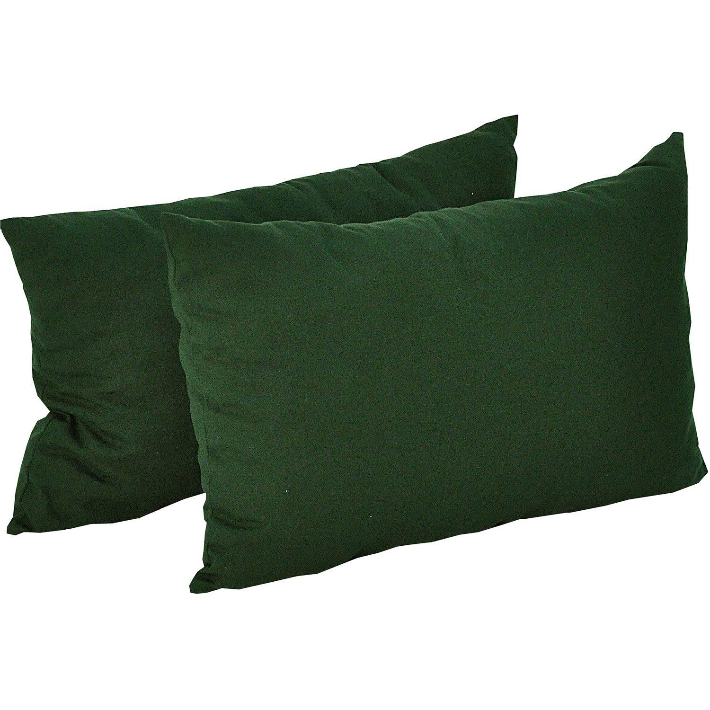 sidokuddar i dralon i färgen grön från fritab.