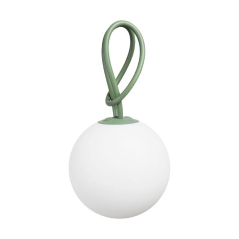 Fatboy bolleke lampa med grön snodd