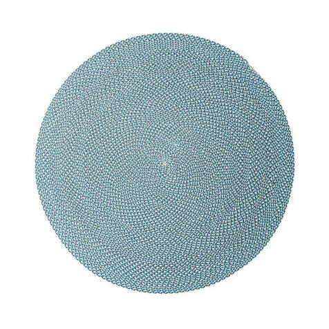 Defined matta 140 cm i diameter turkos
