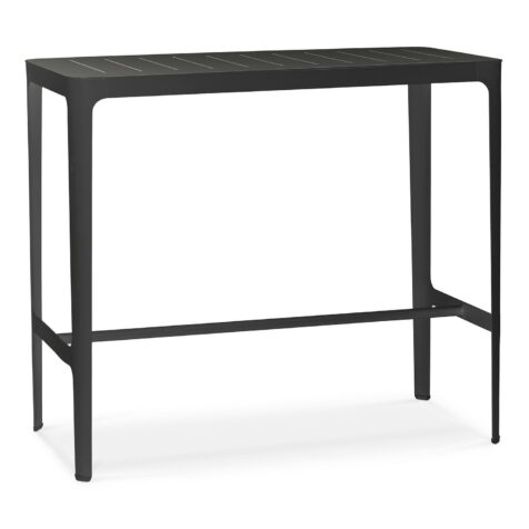 Cut Barbord i svart lackad aluminium från Cane-line