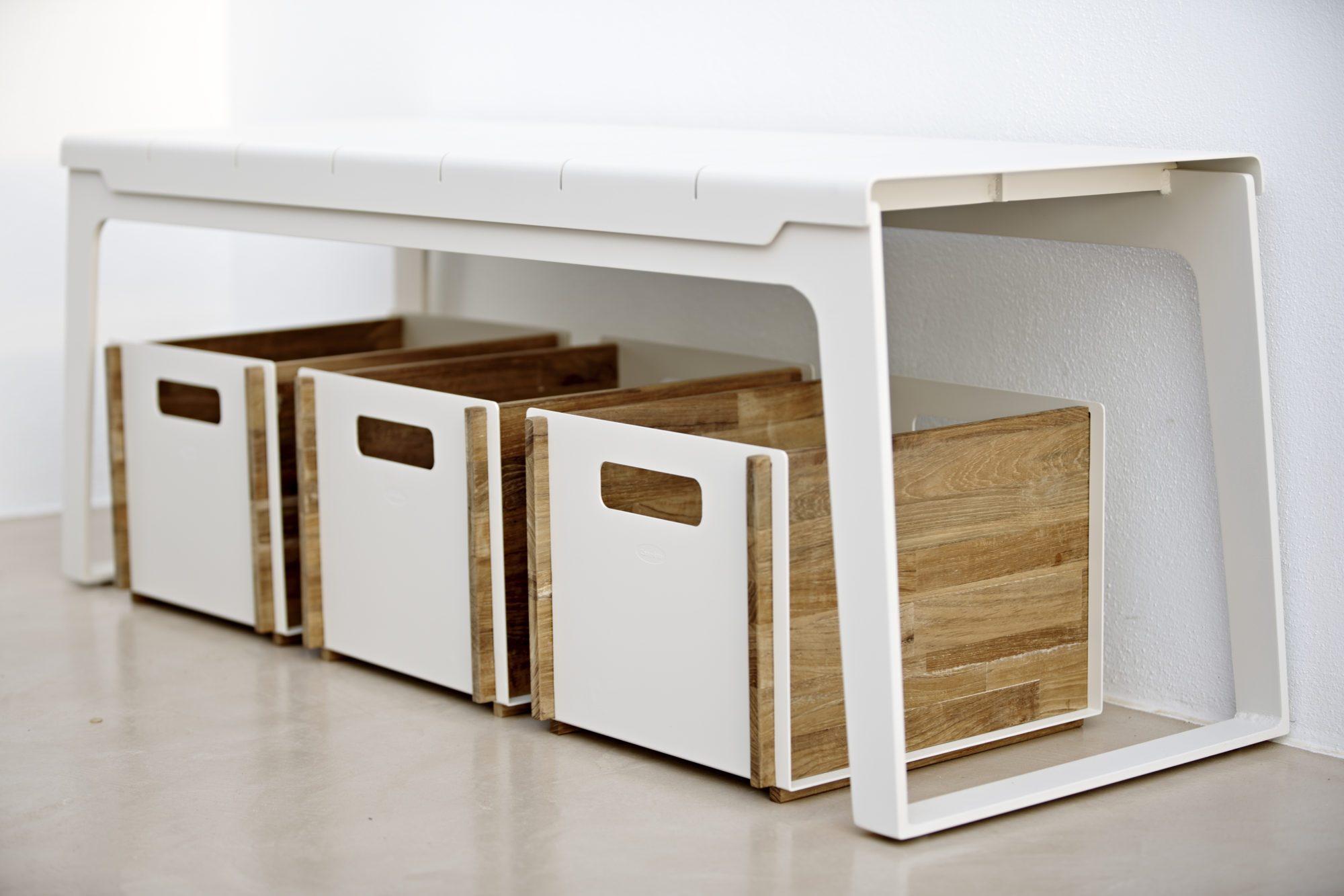 Miljöbild på Box förvaring från Cane-Line-