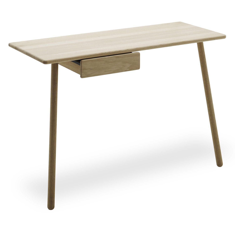 Georg skrivbord i ek med skrivbordslåda från Skagerak