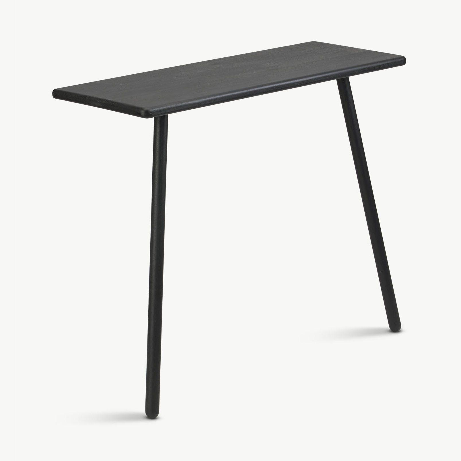 Georg avlastningsbord i svart från Skagerak