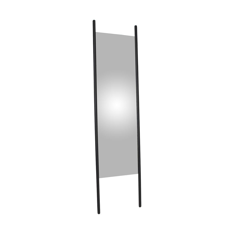 Georg stor spegel i svart från Skagerak
