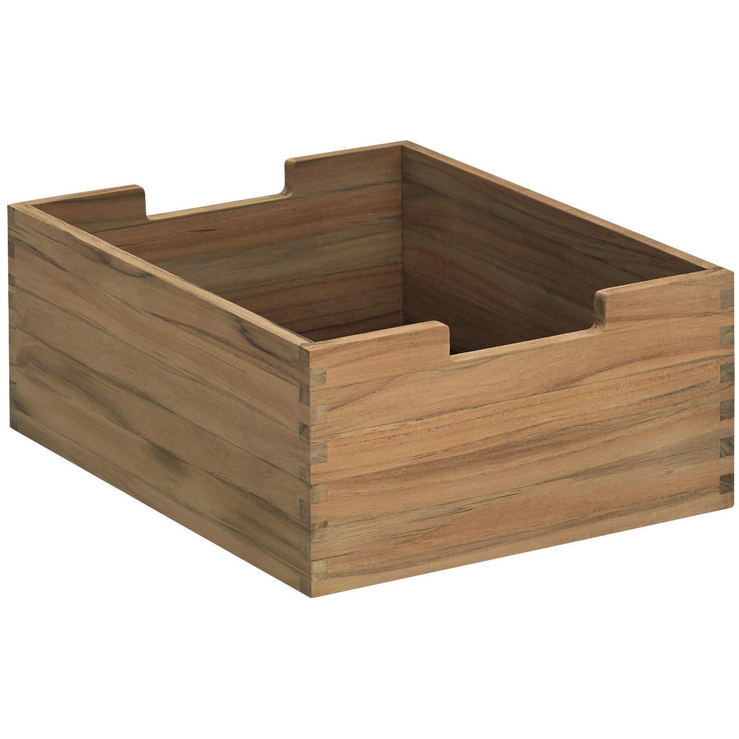 Cutter box liten i teak från Skagerak