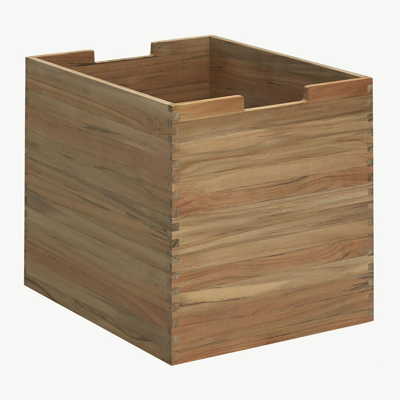 Cutter box stor i teak från Skagerak