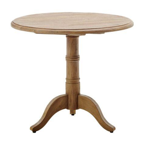 Michel bord med diametern 80 cm.