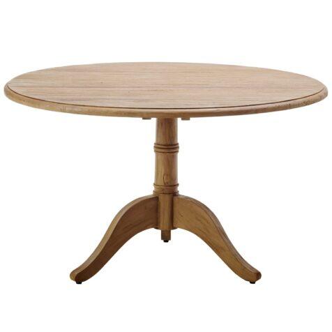 Michel matbord i teak med diametern 120 cm från Sika Design.