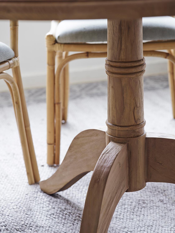 Michel bordsstativ i teak från Sika Design.