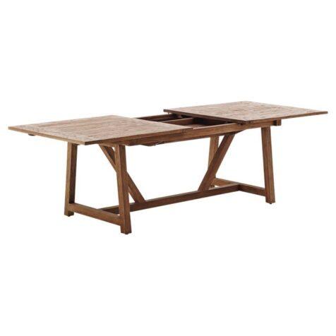 Lucas förlängningsbord i återvunnen teak från Sika Design.