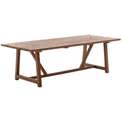 LUcas matbord 240x100 cm i återvunnen teak från Sika Design.
