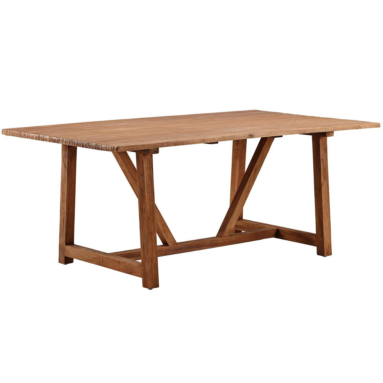 Lucas matbord i återvunnen teak från Sika Design.