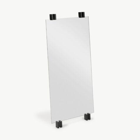 Cutter spegel från Skagerak med svarta ekdetaljer