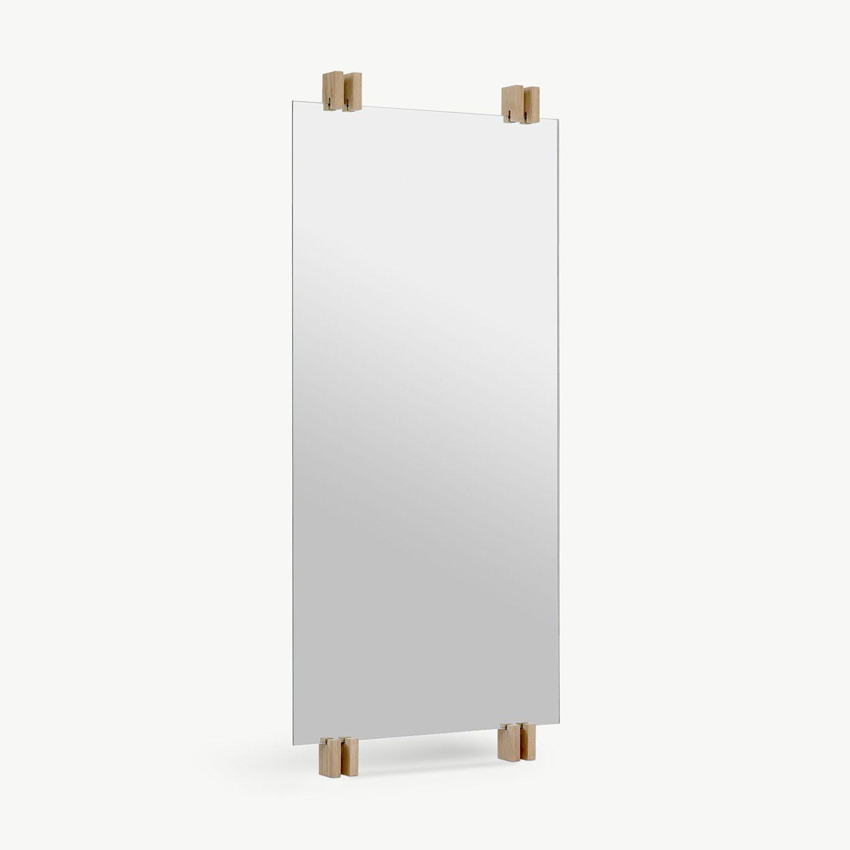 Cutter spegel från Skagerak med ekdetaljer