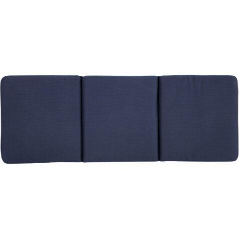 Brafab Amarillo soffdyna 53×142 cm blå bomull/polyester