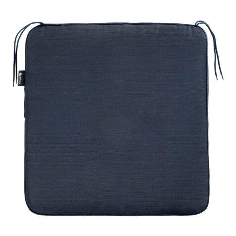 Brafab Amarillo sittdyna 53×51 cm blå bomull/polyester